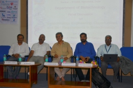 """Department of Biotechnology have organized """"Biotechnology Engineering: Opportunities and Skill Requirements in Biotechnology"""" Panel Discussion with """"Technical Expert"""""""