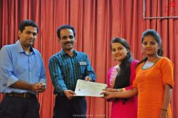 Sneha and Roopashree, IV year BE Biotechnology Student RECEIVED Excellent paper award at Symbiot 2017